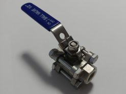 "Three Piece Ball Valve - 1/2"" BSP"