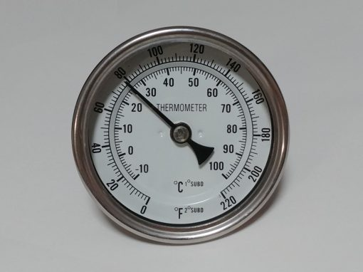 "Weldless Thermometer - 2"" (50mm) Probe"